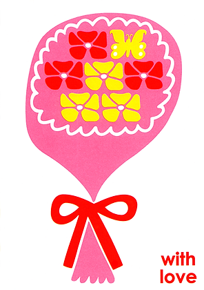 Bouquet Greetings Card