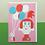 Thumbnail: Balloon Girl Greetings Card