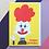 Thumbnail: Clown Greetings Card