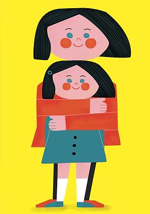 Edie + Friendship Greetings Card