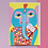 Thumbnail: Party Elephant Greetings Card
