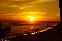 Surfers point sunset-2