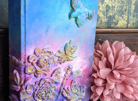 How to Turn Old Books Into a Fun Upcycling Project