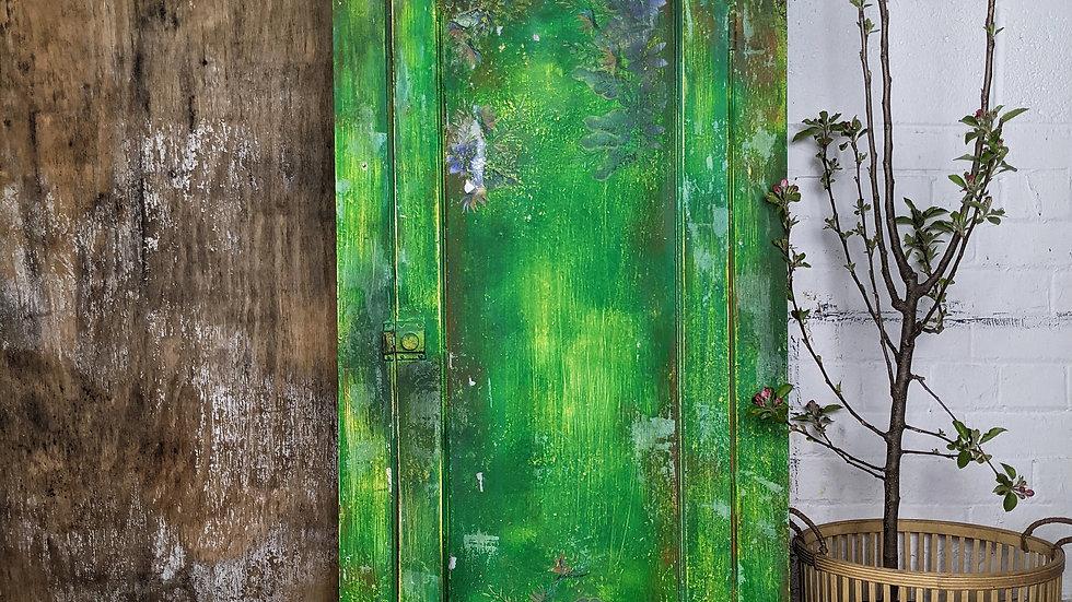 Vagabond - Cabinet - Green Furniture - Storage - Hand Painted - Victorian