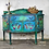 Thumbnail: Lola - Sideboard - Folk Art - Bohemian - Hand Painted - Vintage - Living Room