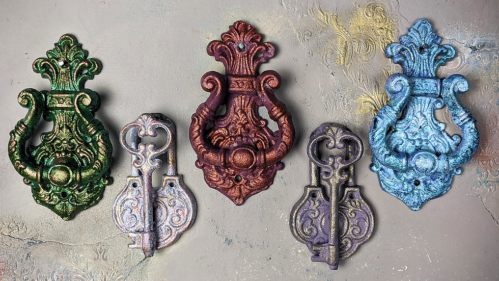 Metallic Collection - Iron Cast Door Knockers - Door Knocker - Gift Ideas - Xmas