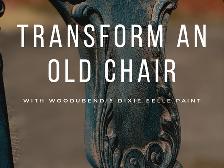 Transform an Old Chair Into a Rustic Staging Prop