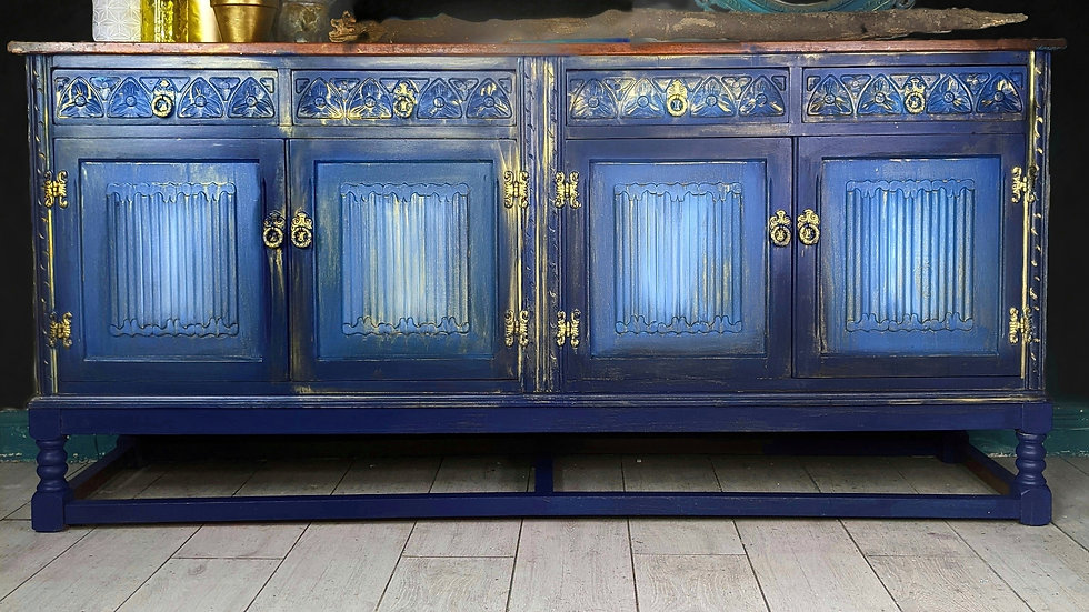 Timeless Beauty Sideboard - Large Sideboard - Hand Painted - Living Room