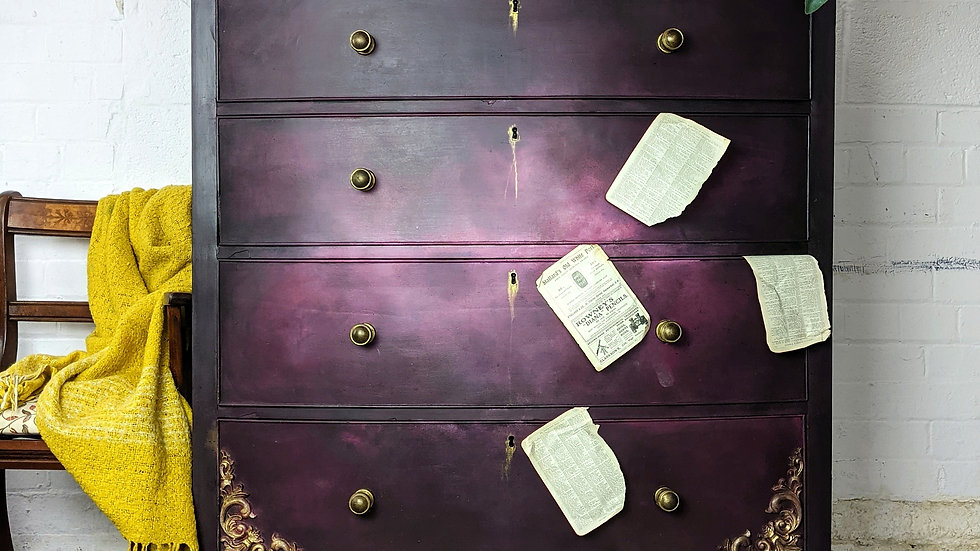 Arabella - Chest of Drawers - Hand Painted - Living Room - Bedroom - Bespoke