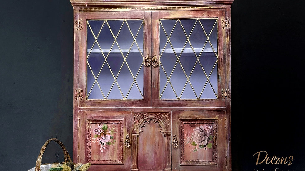 Penelope - Cabinet - Cupboard - Living Room - Dining Room - Hand Painted