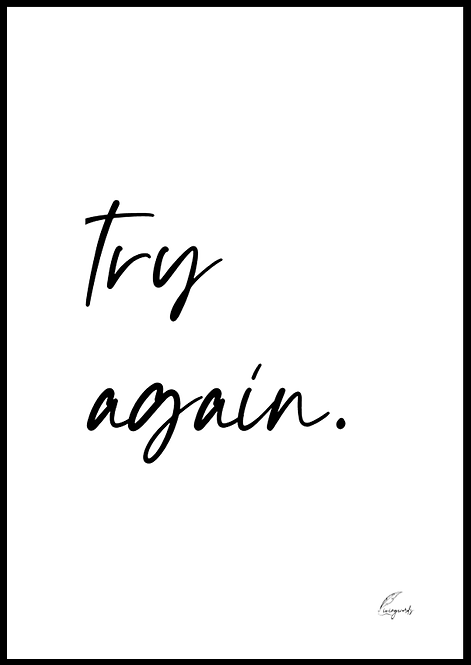Try Again - Poster