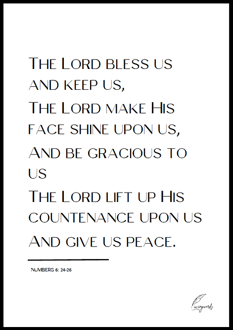 The Lord Bless Us - Poster