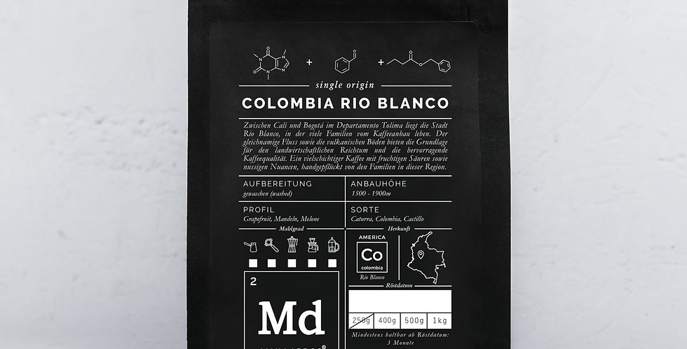 Colombia Rio Blanco