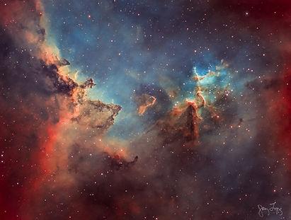 Fine art astrophotography