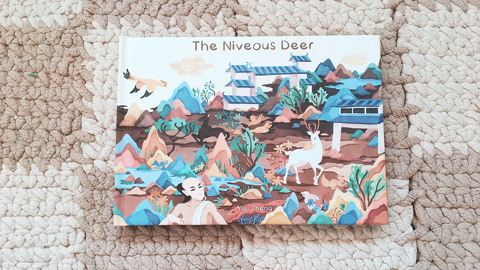 Illustration Book-The Niveous Deer