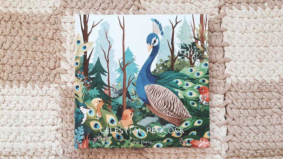 Illustration Book-Celestial Peacock