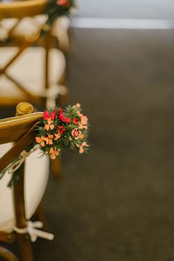 Rustiek trouwfeest