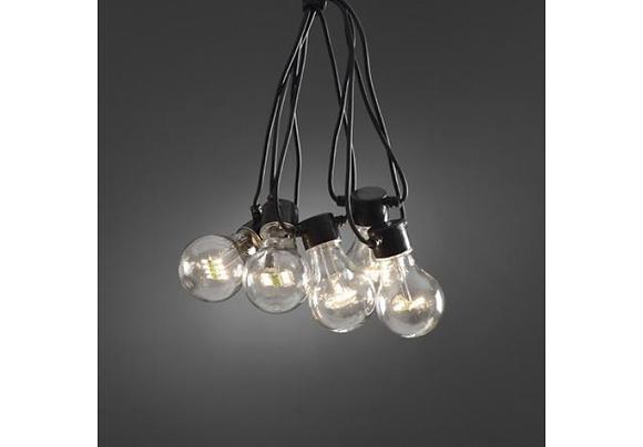 Feestverlichting 20 warme witte led lampen