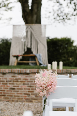 Witte klapstoelen in België