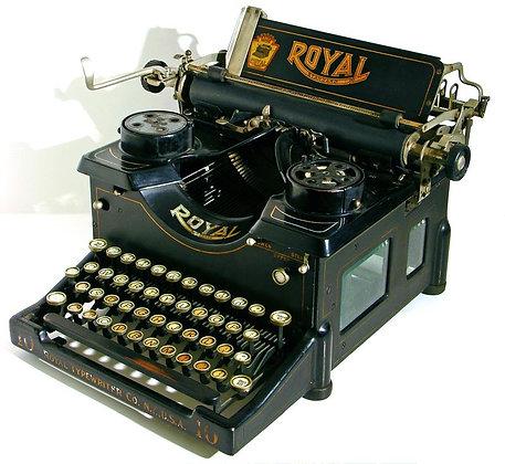 Typmachine Royal