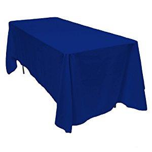 Tafellinnen Rechthoek Koningsblauw 4p