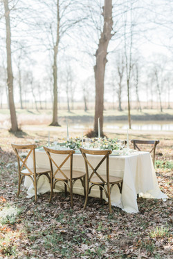 Styling trouwfeest