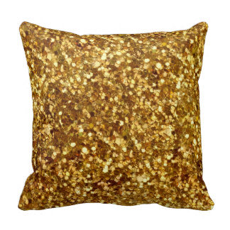 Kussen Glitter Goud
