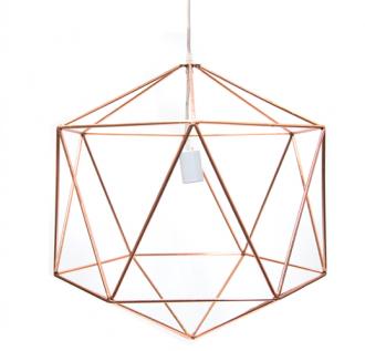 Lamp Square Koper M