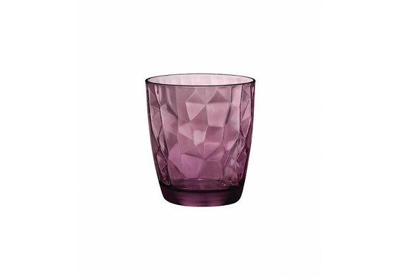 Waterglas paars