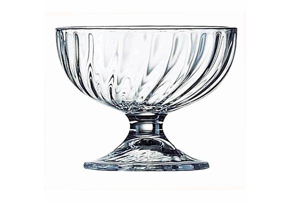 Ijscoupe in glas