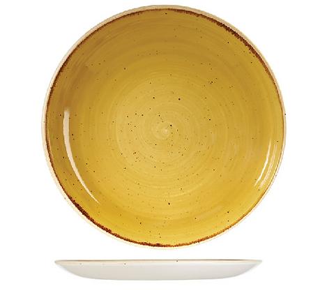 Dinerbord Stone Geel vg