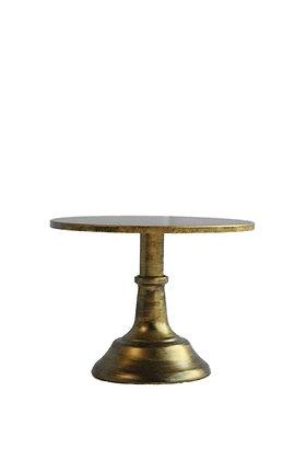 Taarthouder Vintage goud
