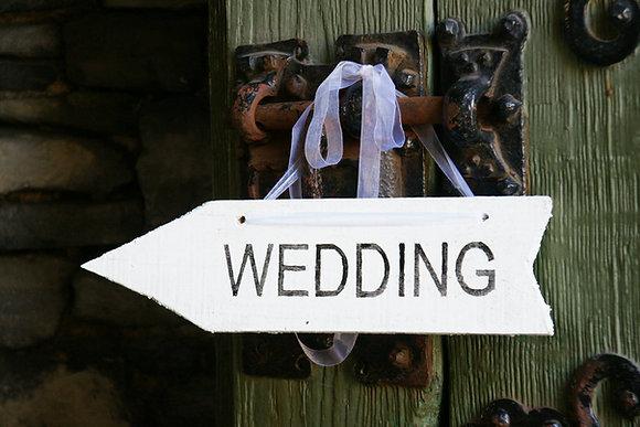 Wegwijzer WEDDING