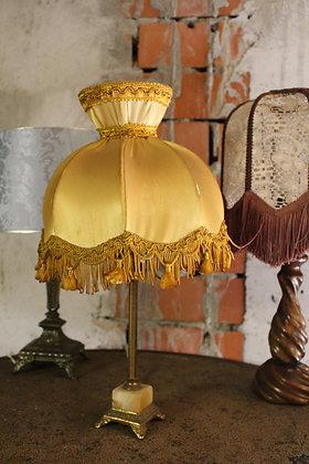 Vintage lampje goudgeel