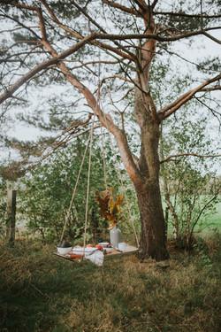 Trouwen in een bos