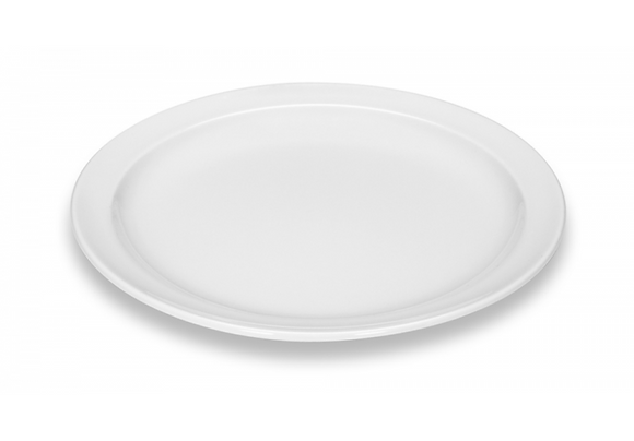 Plat bord wit Kopenhagen