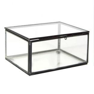 ringendoosje zwart in glas