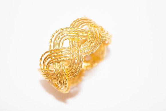 gouden servetring voor feesten