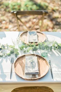 Styling van een trouwfeest