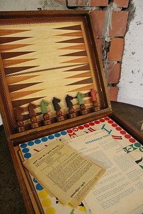 Oude houten spelen