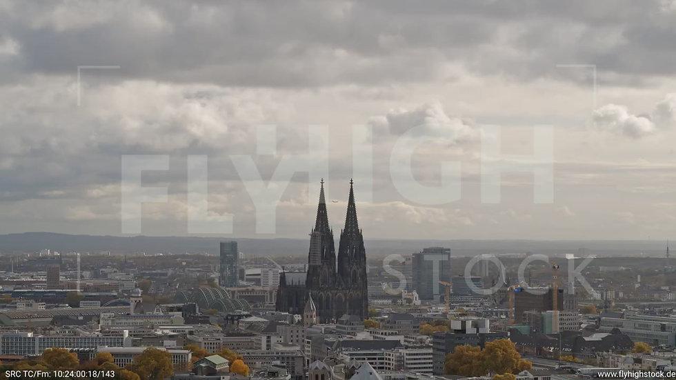 Köln Stadtgarten Parallelflug C083_C006