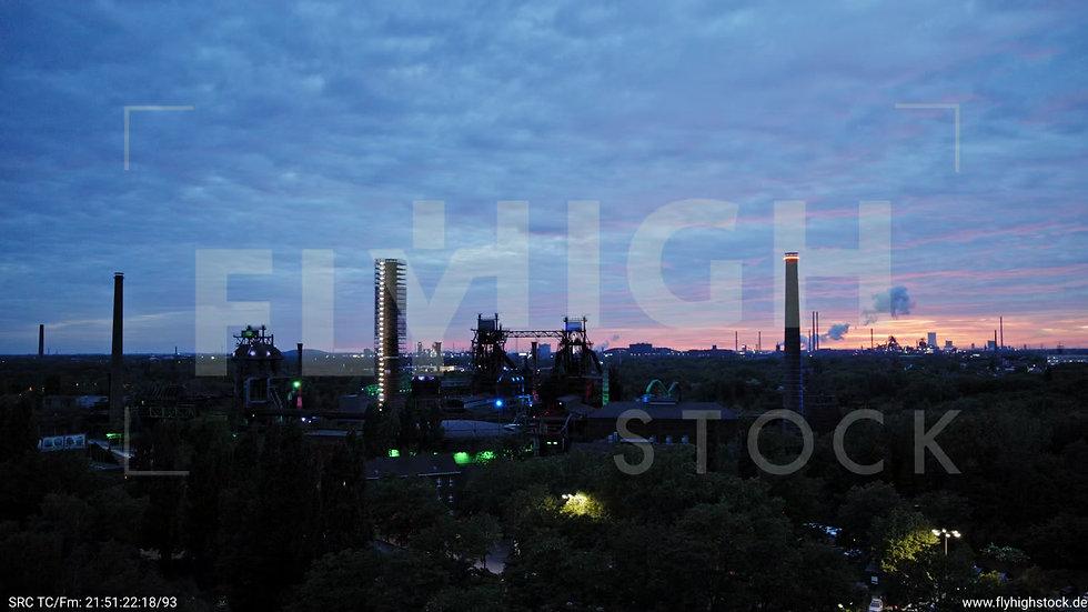 Duisburg Landschaftspark Duisburg-Nord Zuflug G014_C003