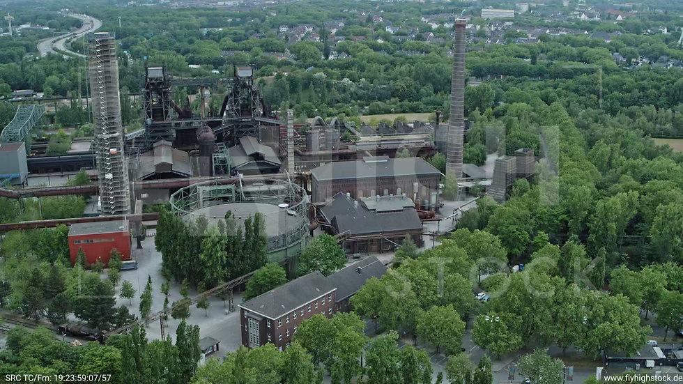 Duisburg Landschaftspark Duisburg-Nord Parallelflug G011_C008