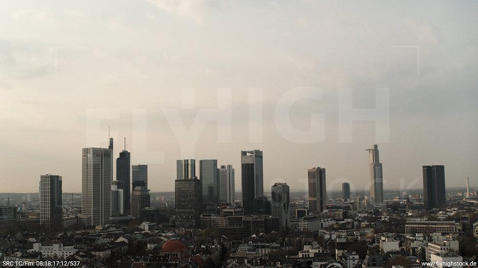 Frankfurt Grüneburgpark Hub Skyline morgens 10