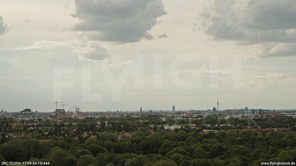 München Ostpark Skyline Hub tagsüber