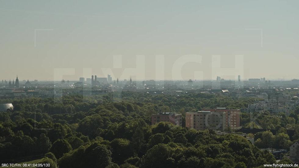 München Westpark West Stadtteil-Shot Zuflug tagsüber 5