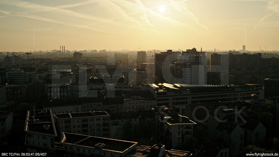 Berlin Hallesches Ufer Skyline Hub morgens 2