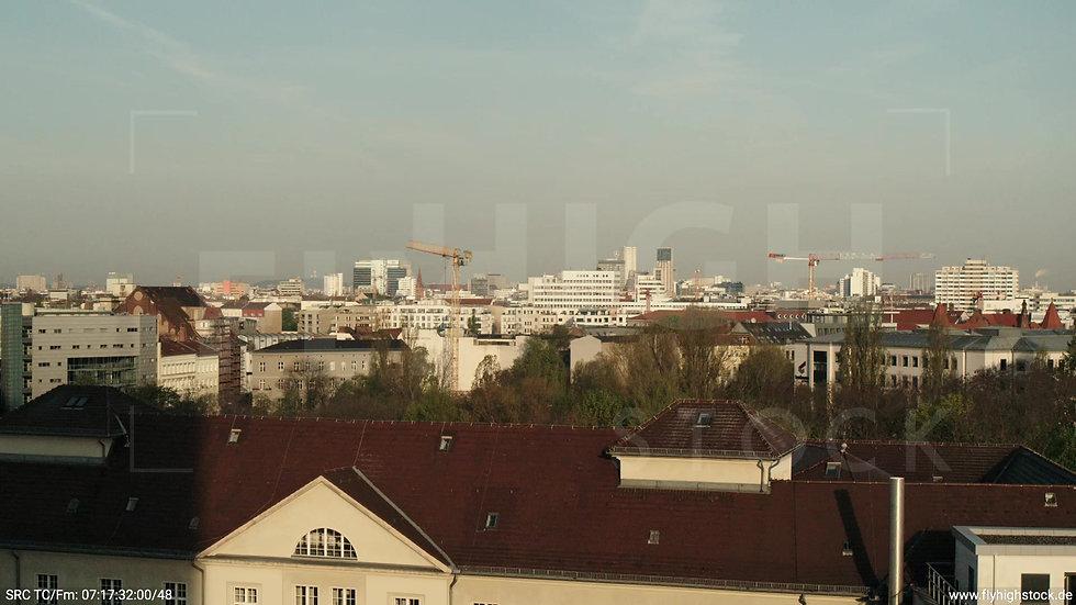 Berlin Hallesches Ufer West Skyline Hub morgens