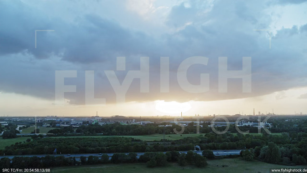 Duisburg Städtedreieck Parallelflug G017_C005