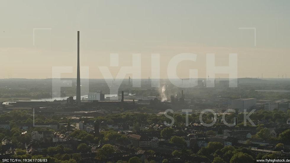 Duisburg Akkurt Wasserturm Parallelflug G005_C015